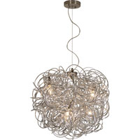 Trend Lighting Mingle 4 Light Pendant in Aluminum TP6827