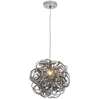 Trend Lighting Mingle 1 Light Pendant in Faceted Obsidian TP6835