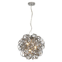 Trend Lighting Mingle 3 Light Pendant in Faceted Obsidian TP6836