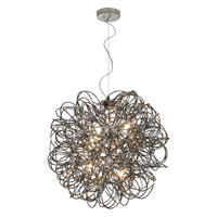 Trend Lighting Mingle 4 Light Pendant in Faceted Obsidian TP6837