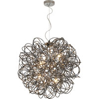 Trend Lighting Mingle 6 Light Pendant in Faceted Obsidian TP6839