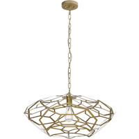 Trend Lighting Charlotte 1 Light Pendant in Champagne Gold TP6933-51