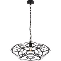 Trend Lighting Charlotte 1 Light Pendant in Blacksmith Gray TP6933-79