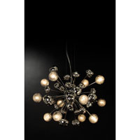 Trend Lighting Starburst 12 Light Chandelier in Polished Chrome TP6950-12