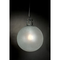 Trend Lighting Quantum 1 Light Pendant in Brushed Nickel TP7019
