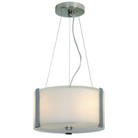 Trend Lighting Apollo 2 Light Pendant in Polished Chrome TP7586