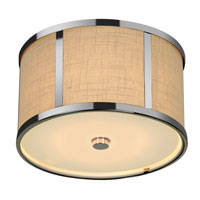 Trend Lighting Butler 2 Light Flushmount in Polished Chrome TP7594