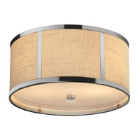 Trend Lighting Butler 2 Light Flushmount in Polished Chrome TP7598