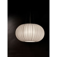 Trend Lighting Shanghai 1 Light Oval Pendant in Brushed Nickel TP7916-W