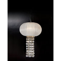 Trend Lighting Montego 1 Light Oval Chandelier in Brushed Nickel TP7918-W