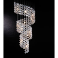 Trend Lighting Cascade 15 Light Chandelier in Polished Chrome TP7940 photo thumbnail