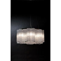 Trend Lighting Pantages 6 Light Chandelier in Polished Chrome TP7976
