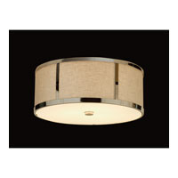 Trend Lighting Butler 3 Light Flushmount in Polished Chrome TP7996