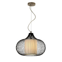 Trend Lighting Oasis 1 Light Pendant in Bronze TP8577