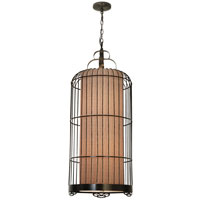 Trend Lighting Nightingale 2 Light Large Pendant in Antique Bronze TP8758