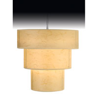 Trend Lighting Astoria 1 Light Pendant in Brushed Nickel TP9206