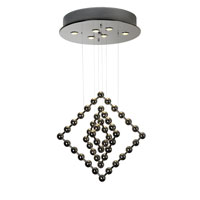 Trend Lighting Spin 6 Light Chandelier in Polished Stainless Steel TP9531
