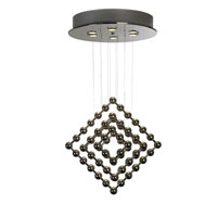 Trend Lighting Spin 6 Light Chandelier in Polished Stainless Steel TP9533