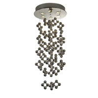 Trend Lighting Jax 6 Light Chandelier in Polished Stainless Steel TP9546