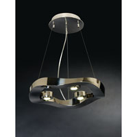 Trend Lighting Halo 3 Light Pendant in Polished Stainless Steel TP9603