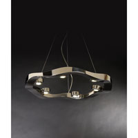 Trend Lighting Halo 6 Light Pendant in Polished Stainless Steel TP9606