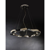 Trend Lighting Halo 8 Light Large Pendant in Polished Stainless Steel TP9608