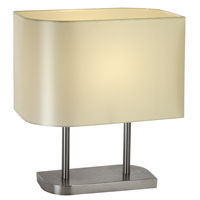 Trend Lighting Shift 1 Light Table Lamp in Brushed Nickel TT3092