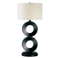 Trend Lighting Rollo 1 Light Table Lamp in Espresso TT3378-50 photo thumbnail