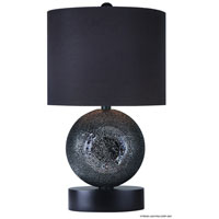Trend Lighting Delphi 1 Light Table Lamp in Ebony Lacquer TT5360-BB