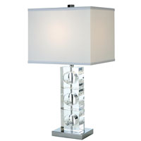 Trend Lighting Rhapsody 1 Light Table Lamp in Polished Chrome TT5632