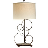Trend Lighting Acropolis 1 Light Table Lamp in Antique Bronze TT5655 photo thumbnail