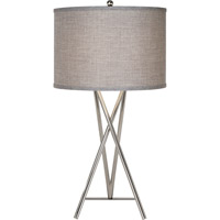 Trend Lighting Triton 1 Light Table Lamp in Polished Chrome TT5680-26