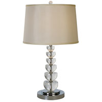 Trend Lighting Lune 1 Light Table Lamp in Polished Chrome TT5860