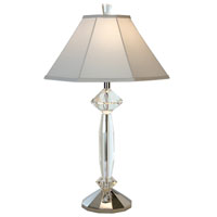 Trend Lighting Eloquence 1 Light Crystal Table Lamp in Polished Chrome TT5869