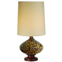 Trend Lighting Hitari 1 Light Table Lamp in Walnut TT5953