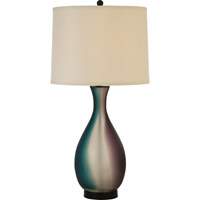 Trend Lighting Mariposa 1 Light Table Lamp in Ebony Lacquer TT6870