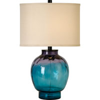 Trend Lighting Panacea 1 Light Table Lamp in Satin Black TT6890