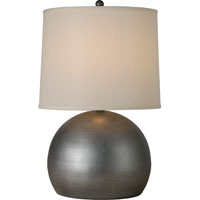 Trend Lighting Latitude 1 Light Table Lamp in Hand Painted Weathered Pewter TT7260-66
