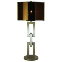 Trend Lighting Linque 1 Light Table Lamp in Brushed Nickel TT7570
