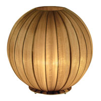 Trend Lighting Shanghai 1 Light Table Uplight in Antique Gold TT7900-G