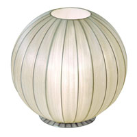 Trend Lighting Shanghai 1 Light Table Uplight in Brushed Nickel TT7900-W