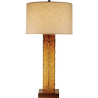 Trend Lighting Apex 1 Light Table Lamp in Teak TT7947