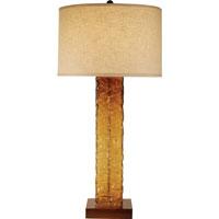 Trend Lighting Apex 1 Light Table Lamp in Teak TT7947 photo thumbnail