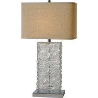 Trend Lighting Stalagmos 1 Light Table Lamp in Polished Chrome TT7948