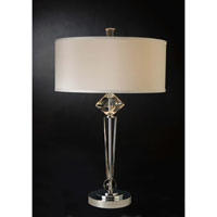 Trend Lighting Etoile 1 Light Crystal Table Lamp in Polished Chrome TT8712