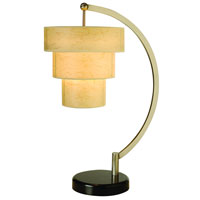 Trend Lighting Astoria 1 Light Table Lamp in Brushed Nickel TT9202