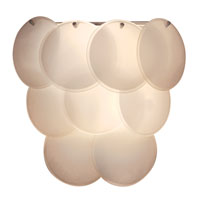 Trend Lighting Selene 3 Light Wall Sconce in White TW6947