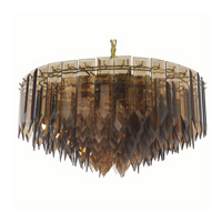Triarch Industries Signature 7 Light Chandelier in Polished Brass 12003-AMB