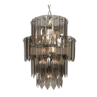 Triarch Signature 10 Light Chandelier in Chrome 12006-SMK