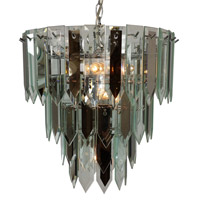 Triarch Signature 7 Light Chandelier in Chrome 12009-RSCL